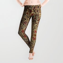 Lavar Kirman Southeast Persian Rug Print Leggings