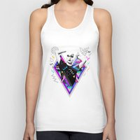 kris tate Tank Tops featuring Heart Of Glass - Kris Tate x Ruben Ireland by Ruben Ireland