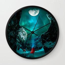 little Red Riding Hood l Caperucita roja Wall Clock