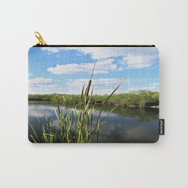 Cattails in the Sun Carry-All Pouch