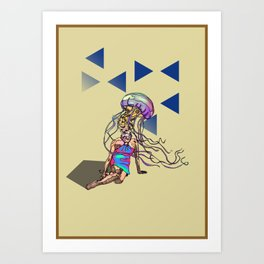 Jellybish Art Print