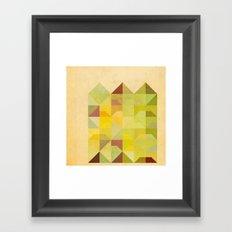 San Francisco Row Framed Art Print