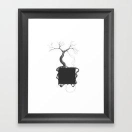 Artificial Tree N.31 Framed Art Print