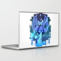 steven universe Laptop & iPad Skins featuring steven universe lapis lazuli by Shade-Umbra