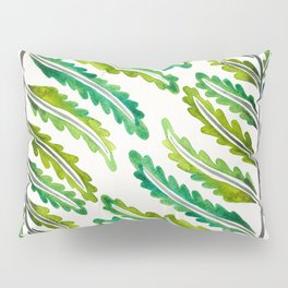 Fern Leaf – Green Palette Pillow Sham