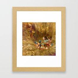Dehiscence 20 Framed Art Print