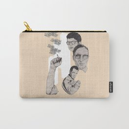 Burroughs, Ginsberg and Kerouac Carry-All Pouch