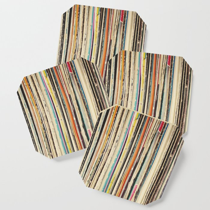 Record Collection Coaster