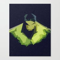 hulk Canvas Prints featuring Hulk by Javier Martinez