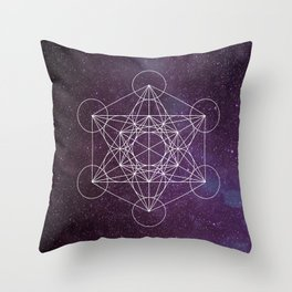 Star of Metatron Throw Pillow
