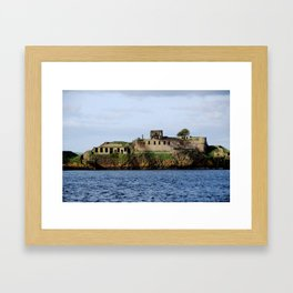 Inchmickery Island - Fife, Scotland Framed Art Print
