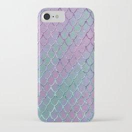 Mermaid Princess Glitter Scales Glam #1 #shiny #stripes #decor #art #society6 iPhone Case