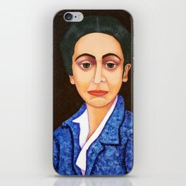 M. Helena Vieira da Silva - dialogue between abstraction and figuration iPhone Skin