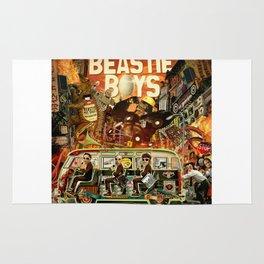 Beastie Invasion Rug