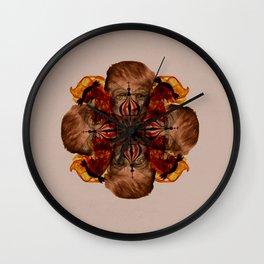 Lilium Insanis Wall Clock
