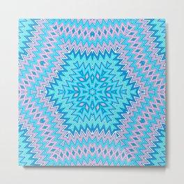 Ethnic geometric pattern 6 Metal Print