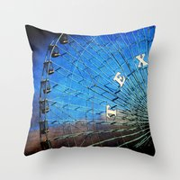 texas Throw Pillows featuring Texas by Slight Clutter