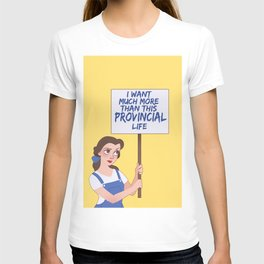 Protest Princess: Belle T-shirt