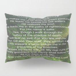 Psalms 23 Lords Prayer Pillow Sham
