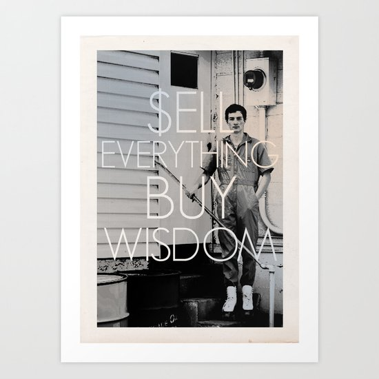 Buy Wisdom Art Print