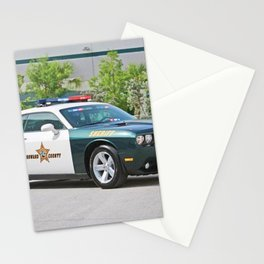 Broward Country Florida Challenger Police Highway Patrol color photograph / photography Stationery Cards
