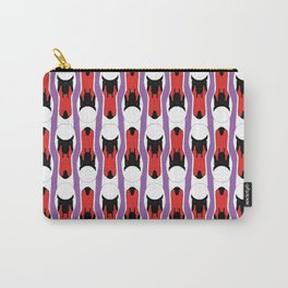 SWAN STRIPE Carry-All Pouch