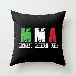 MMA - Mexican Martial Arts Throw Pillow