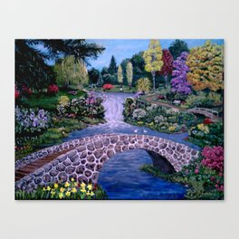 My Garden - by Ave Hurley Canvas Print