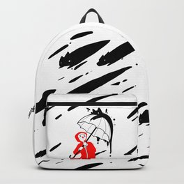 It's raining cats and dogs Backpack