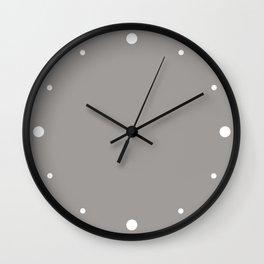 Pigeon (Gray) Color Wall Clock