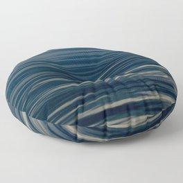 Beautiful Calm Coastal Waters Floor Pillow
