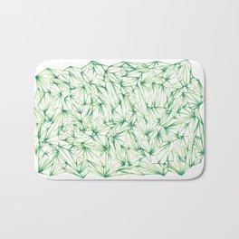 Green Fields Bath Mat