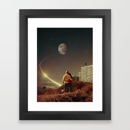 We Used To Live There, Too Framed Art Print