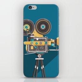 CINE: Blue iPhone Skin