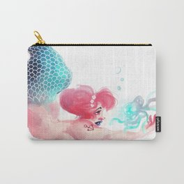 Mermaid and Jelly Fish Carry-All Pouch