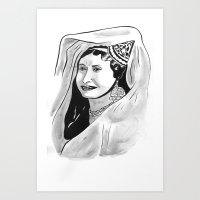 Badia Masabni Art Print
