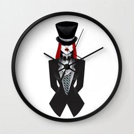 Gotham Masquerade Wall Clock