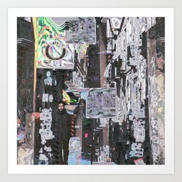 Aspects are delineated specifically to the desired Art Print
