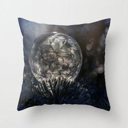 The spirit of winter Throw Pillow