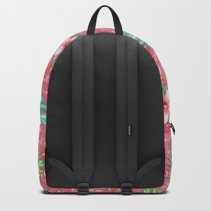 Summer flowers #1 Backpack