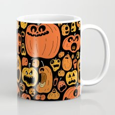 Pumpkin Pattern Mug