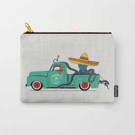 Octopus' journey on Ford f100 Carry-All Pouch