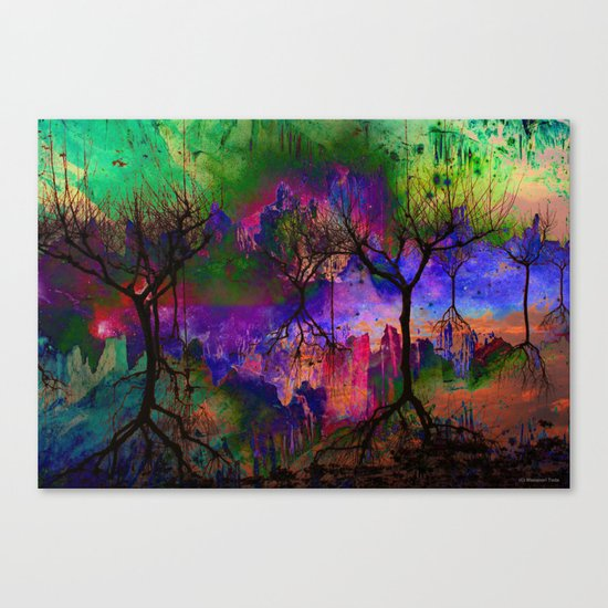 Everything is nothing 3 (therefore it was beautiful) Canvas Print