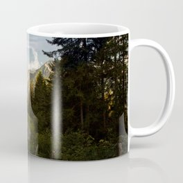 through the woods and over the mountains Coffee Mug