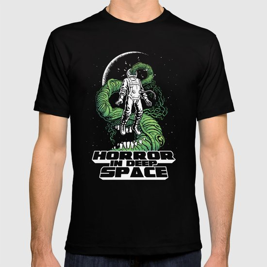 Horror In Deep Space T-shirt