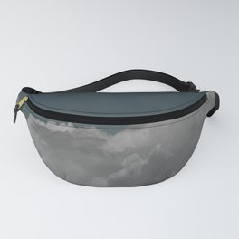 Cloudy blue Fanny Pack