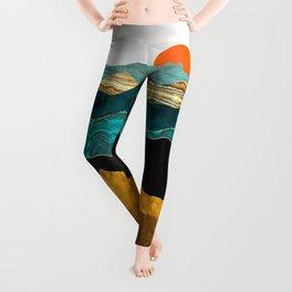 Turquoise Vista Leggings