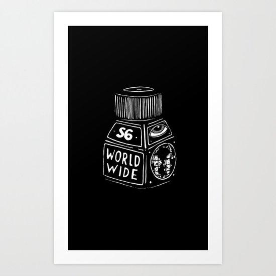 S6 WORLD WIDE!!!! Art Print
