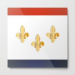 New Orleans City Flag Metal Print
