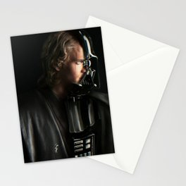 anakin dualism Stationery Cards